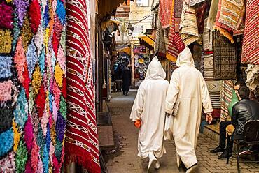 street scene, medina, Fez. Morocco
