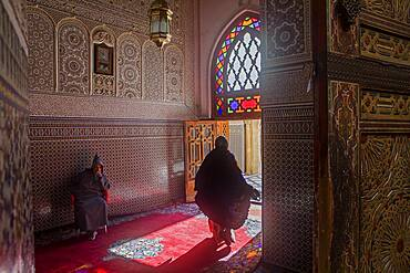 Zaouia Sidi Ahmed Tijani, medina, Fez.Morocco