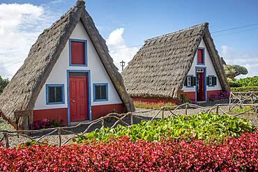 Traditional house, Santana, Madeira, Portugal