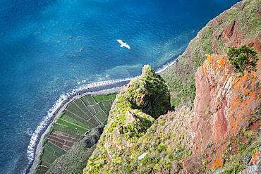 Landscape from Miradouro do Cabo Girao, Madeira, Portugal