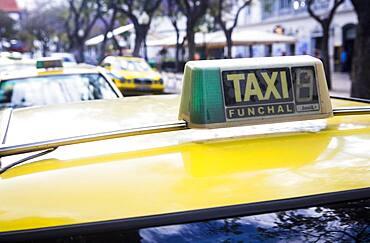 Cabs, AV Arriaga, Funchal, Madeira, Portugal