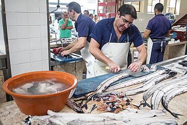 Fish area,  Mercado dos Lavradores,Funchal,Madeira, Portugal