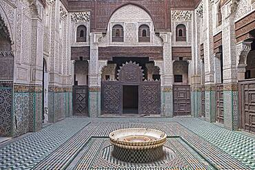 Bou Inania medersa, Meknes. Morocco