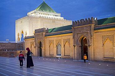 Mausoleum of Mohammed V, Rabat, Morocco