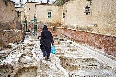 Tannery, medina, UNESCO World Heritage Site,Tetouan, Morocco