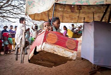 Carousel, outskirts of Antananarivo, Madagascar