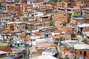 Views of Comuna 13, Medellín, Colombia