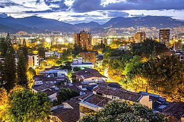 Skiline, El Poblado, Medellín, Colombia