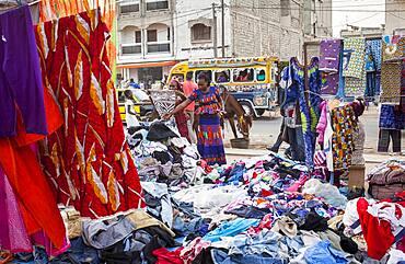 Tilene market, Dakar, Senegal, West Africa, Africa