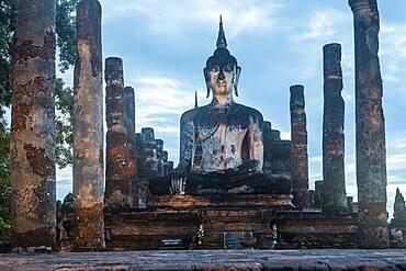 Wat Mahathat, Sukhothai Historical Park, Sukhothai, Thailand