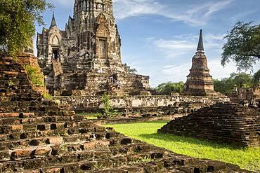 Wat Ratchaburana temple, Ayuthaya, Thailand