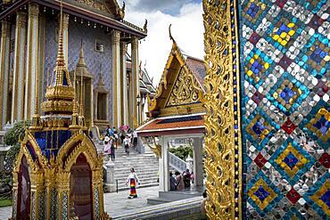 Emerald Buddha Wat Phra Kaeo temple, Grand Palace, Bangkok, Thailand