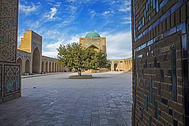 Courtyard of Kalon mosque, Bukhara, Uzbekistan