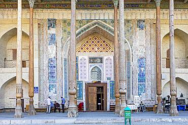 Bolo Hauz Mosque, Bukhara, Uzbekistan