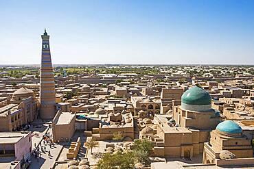 Skyline, Khiva, Uzbekistan