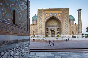 Sher Dor Medressa, Registan, Samarkand, Uzbekistan