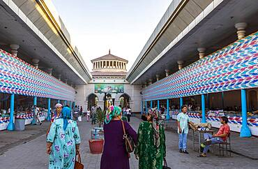 Restaurants or food hall, Chorsu Bazaar,Tashkent, Uzbekistan