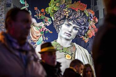 Falla Almirante Cadarso, Fallas festival,Valencia,Spain