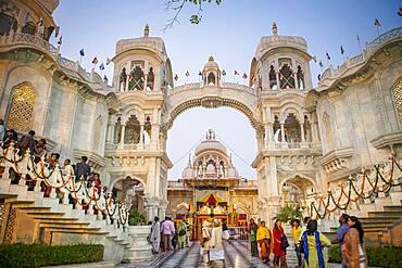 ISKCON temple, Sri Krishna Balaram Mandir,Vrindavan,Mathura, Uttar Pradesh, India
