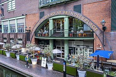 Pitcher & Piano Bar, in Birmingham Canal, Old Line, Birmingham, England