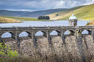 Craig Goch reservoir at Elan Valley, Powys, Wales