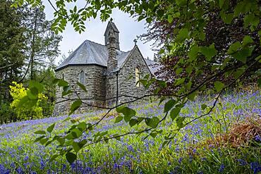Nantgwyllt Church at Elan Valley, Powys, Wales