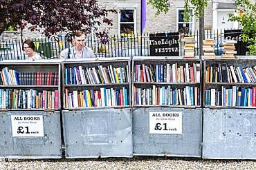 Hay Cinema bookshop, Hay on Wye, Wales
