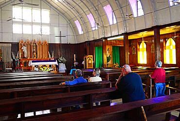 Santa Barbara church, designed by Alexandre-Gustave Eiffel, Santa Rosalia, Baja California Sur, Mexico.