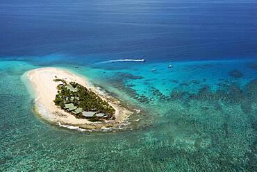 Namotu Island  Mamanuca Islands, Fiji, South Pacific - aerial view