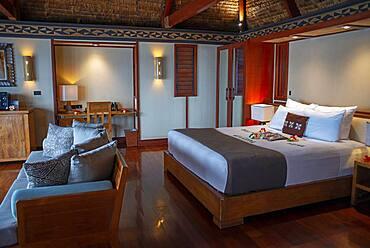 Inside a room Villas in Malolo Island Resort and Likuliku Resort, Mamanucas island group Fiji