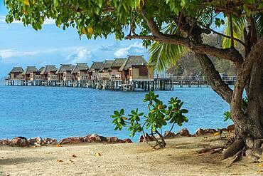 Likuliku Lagoon Resort, Overwater Bures at Five Star Resort, Malolo Island, Mamanucas, Fiji