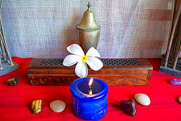 Spa, wellness, massages in Meridien Hotel on the island of Tahiti, French Polynesia, Tahiti Nui, Society Islands, French Polynesia, South Pacific.