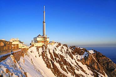The Observatory Of Pic Du Midi De Bigorre, Hautes Pyrenees, Midi Pyrenees, France