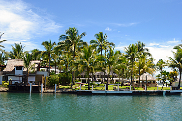 Resort in the Pacific Harbour, Viti Levu, Fiji