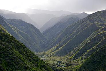 Kahakuloa valley, West Maui, Hawaii, USA
