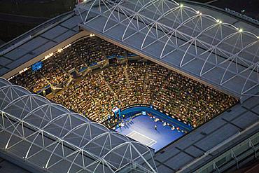 Melbourne Park during the Australian Open Tennis tournament.