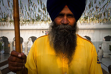 In the Golden Temple complex in Amritsar