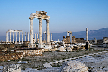Ruins of Laodicea on the Lycus, an ancient city built on the river Lycus