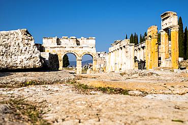 Ruins of Hierapolis an ancient Greek city