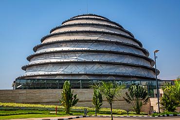 Outside exterior ofThe Kigali Convention Centre, Kigali, Rwanda.