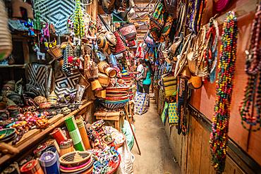 Curio shop, Kimironko Market, Kigali Rwanda
