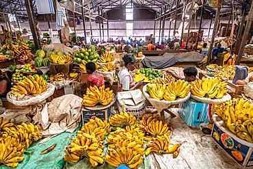 Bananas for sale, Kimironko Market, Kigali Rwanda