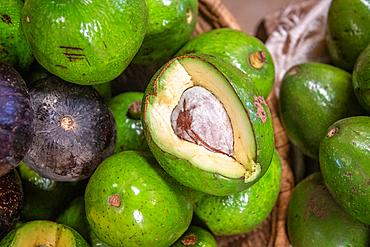 Avocado for sale Kimironko Market, Kigali Rwanda