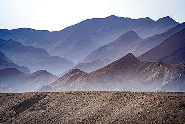 The rocky landscape of the Danakil Depression, Ethiopia