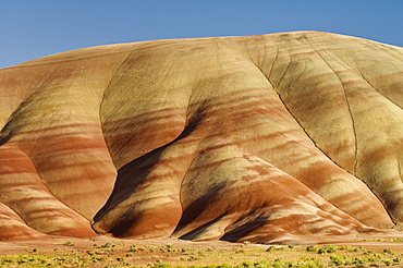 Painted Hills, John Day Fossil Beds National Monument, Oregon.