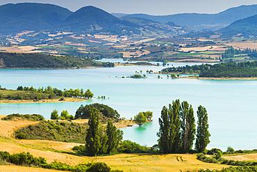 Alloz reservoir. Navarre, Spain, Europe