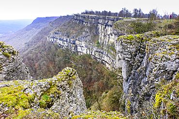 Balcon de Pilatos area. Urbasa y Andia Natural Park. Navarre, Spain, Europe