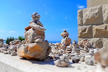 Rock sculptures in Dubrovnik, Croatia