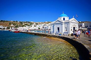 Agios Nikolakis (Saint Nicholas) orthodox church in Mykonos town, Greece