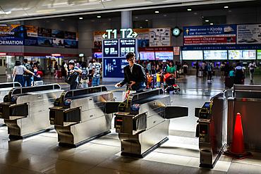 Osaka train station, Japan